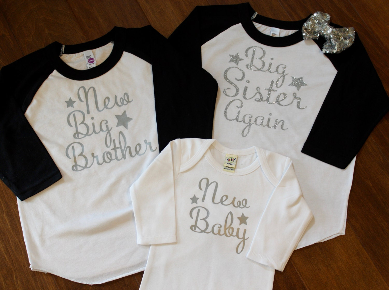 Big Sister Shirt Big Brother Shirt Little Brother Shirt