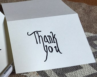 Thank You Cards \ Card Set of 10