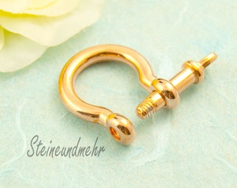 Buckle Strap shackle rose gold plated art. 3194