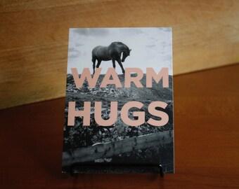Postcard : Warm hugs.