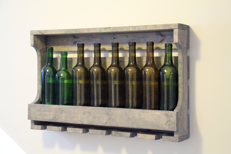 Housewarming gift pine wine rack wine rack unique wine for Best wine for housewarming gift