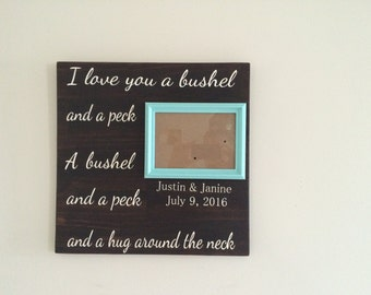 Personalized Picture Frame, Picture Frame