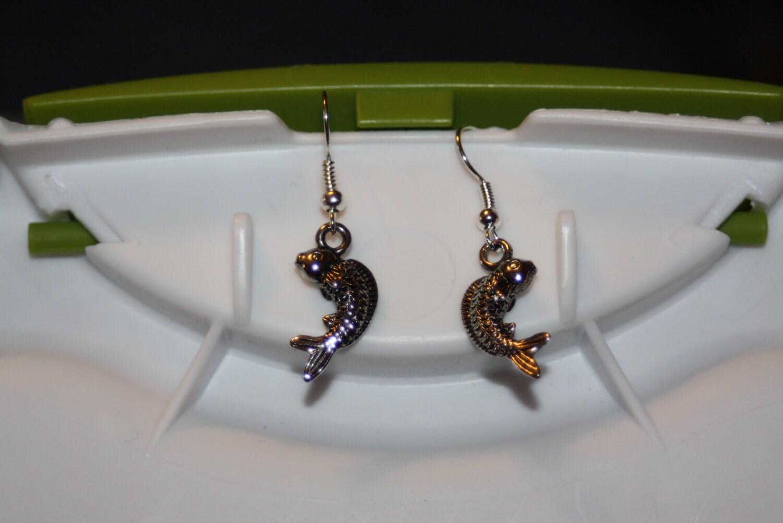 Koi fish earrings for Koi fish beads