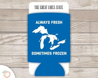 ALWAYS FRESH sometimes frozen . drink holder