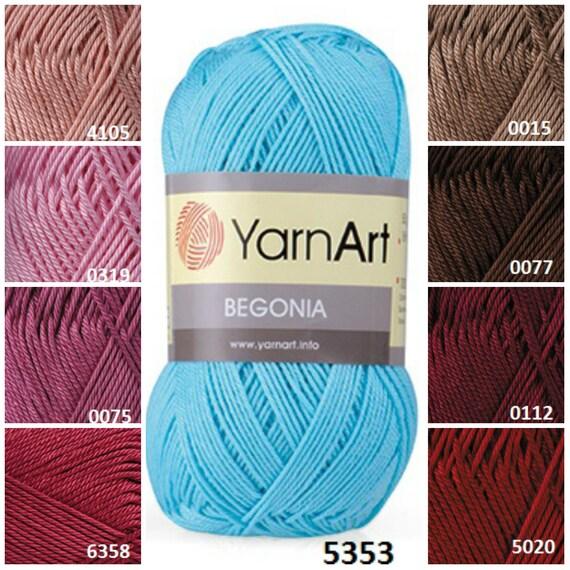 Knitting Patterns Baby Cotton Yarn : Yarnart BEGONIA %100 cotton yarn knitting yarn by KnittingAndYarns