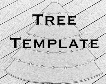 Jesse Tree Template- SALE