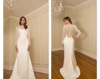 "Bridal Gown Sample, ""GRETA"" by COCOE VOCI"