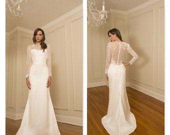 "Bridal Gown Sample, ""GRETA"" by COCOE VOCI"