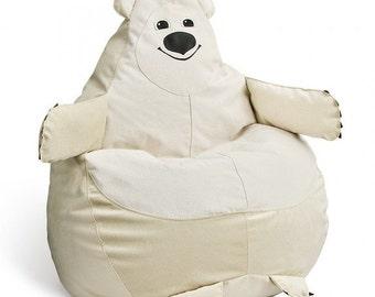 Bear Bean bag, Kids Bean Bag Chair, Children bean bag