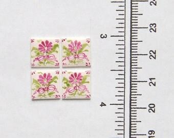 Miniature: 1 Single Tile - Carnation