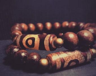 Men/women wood bracelets.
