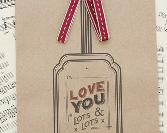 Love You Lots & Lots Gift Bag