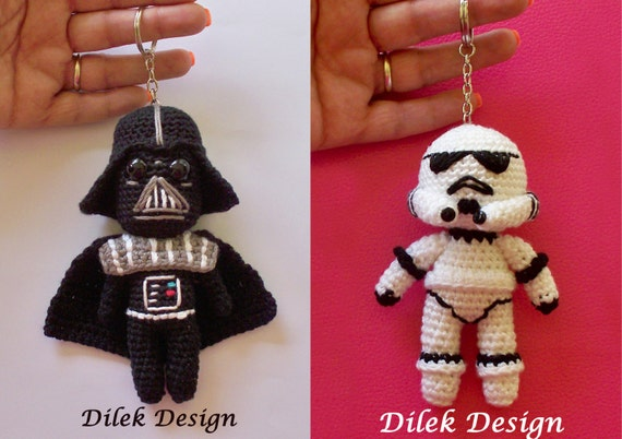 Amigurumi Snake Pattern Free : Amigurumi Crochet Pattern Star Wars Darth Vader by DilekDesign