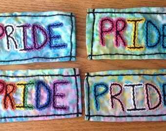 Show Your Pride! Handmade iron on patches