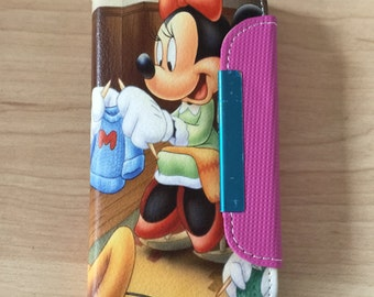 Disney Minnie Mouse PU Leather Case For iPhone SE / 5 / 5s Ship From NY