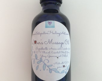 Lover's Massage Oil