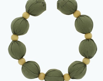 For kids - Freezer-Charged Cooling Necklace Green
