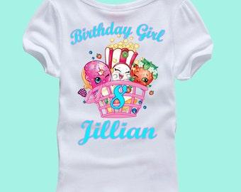 shopkins birthday shirt shopkins shirt
