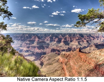 Grand Canyon Vista #1: Landscape art photography prints for home or office wall decor.