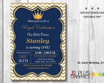 Prince Birthday Invitations Etsy