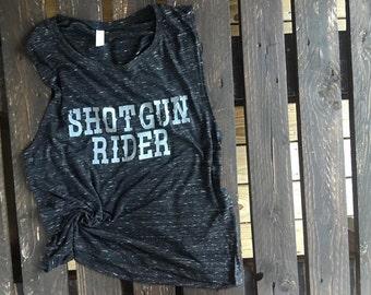 Shotgun Rider Muscle Tank