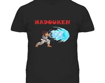Hadouken Ryu Vs Ken Street Fighter  T Shirt