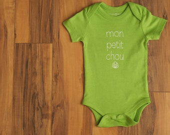 On Sale! Mon Petit Chou Onesie
