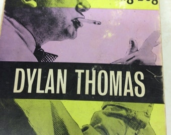 Dylan Thomas - Portrait of the Artist as a young Dog - 1970s book - Vintage Dylan Thomas book - vintage Welsh book
