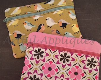 Medium Zipper Pouch Design