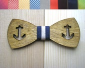 Wooden bow tie. Unique gift for men and women. Made by Oak wood. Handmade. Wedding accessories Personalized  NEW