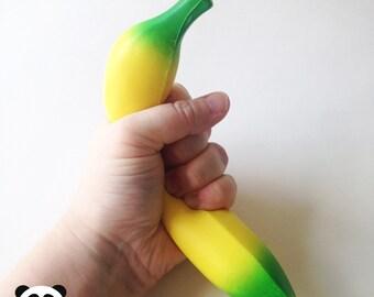 Cute Banana Squishy Charm Accessory