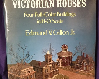 Victorian Houses 1979 H&O Scale cut and assemble
