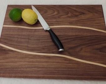 Cutting board, wood cutting board, serving tray, chopping block, inlay cutting board, wooden cutting board, cheese board, bread board