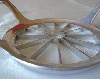 vintage aluminium fruit cutter