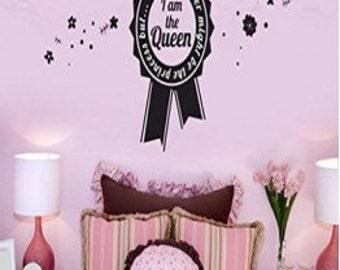 But I am The Queen wall sticker
