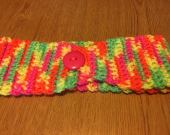 Earwarmer/Headband  Crocheted, Handmade, Womens
