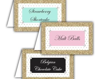 Dessert table labels | Etsy
