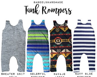 Tank rompers