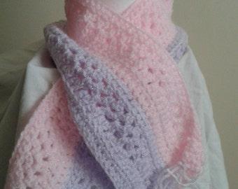 Childs crochet scarf