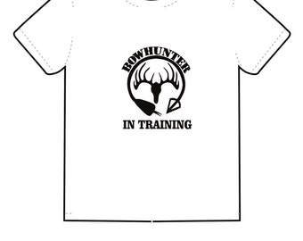 Bow Hunter In Training White Toddle T-Shirt