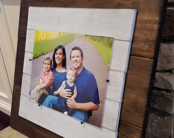8x10 Rustic Hand Crafts Picture Frame