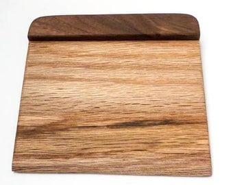 Custom Kitchen Blade - Oak & Walnut
