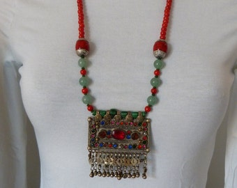 NECKLACE ETNIC CHIC Bohemian Hippie
