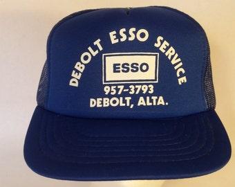 Debolt esso service Vintage hat.
