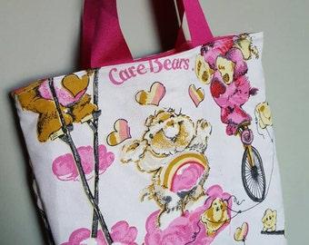 Care Bears tote shopping bag.