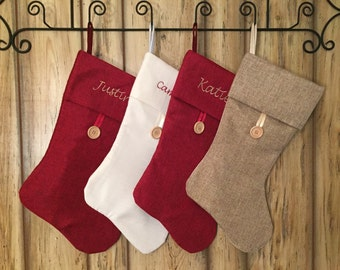 Personalized/Monogrammed Christmas Stocking