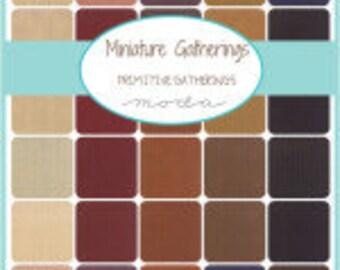MIniature Gatherings Charm Pack Moda Precuts