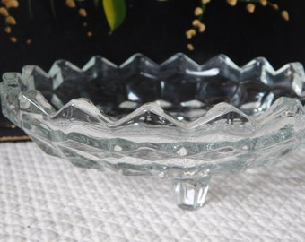 Vintage Indiana Glass Whitehall Bonbon Glass Candy Dish