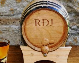 "Shop ""personalized whiskey barrel"" in Storage & Organization"