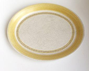 SALE: Franciscan Earthenware Hacienda Gold Platter